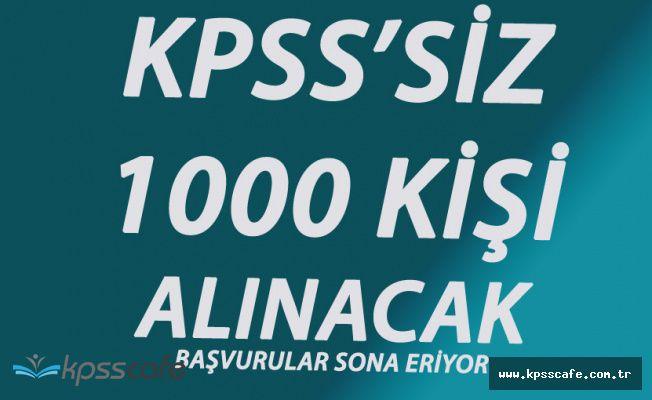 Dikkat! Başvurular Sona Eriyor! Halkbank KPSS'siz 1000 Servis Görevlisi Alıyor!