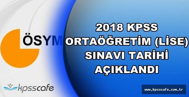 2018 Yılı Lise KPSS'nin Yapılacağı Tarih Belli Oldu (2018 KPSS Ortaöğretim Konuları)
