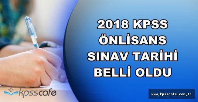 2018 Yılı KPSS Ön Lisans Sınav Tarihi Belli Oldu (2018 KPSS Önlisans Sınav Konuları)