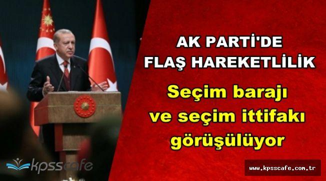 Erdoğan'dan Flaş Talimat: Seçim İttifakı Görüşülüyor