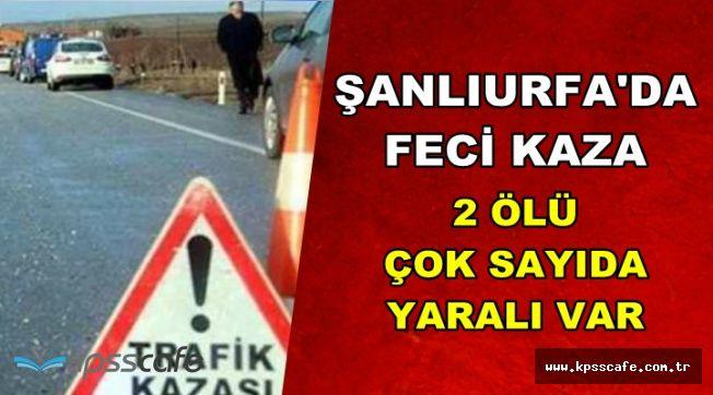 Feci Kaza: Şanlıurfa'da Tarım İşçilerini Taşıyan Minibüs ile Otomobil Çarpıştı
