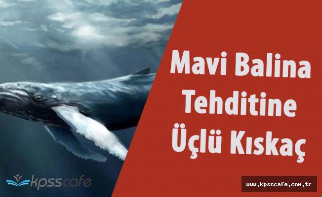 Türkiye'yi Tehdit Etmeye Başlayan Mavi Balina'ya Üçlü Kıskaç!
