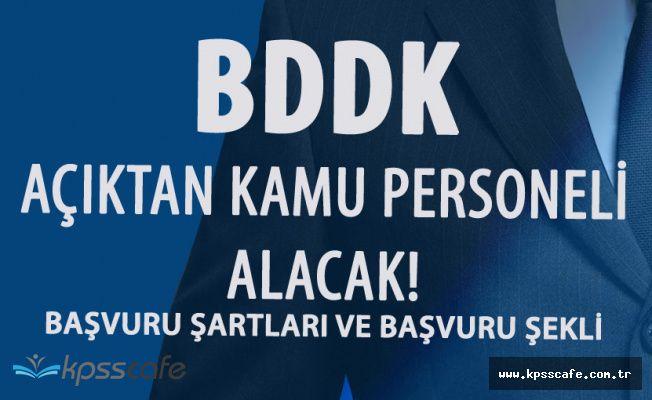 BDDK Açıktan Personel Alımı için Başvurular Sadece Postayla Yapılacak