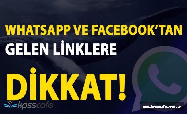 Whatsapp ve Facebook Messenger'dan Gelen Linklere Dikkat!