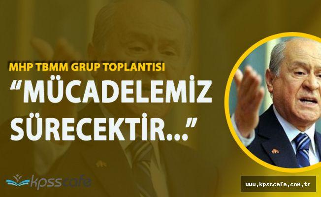 Devlet Bahçeli'den Flaş AK Parti Açıklaması 'İş Birliği Sürecek'