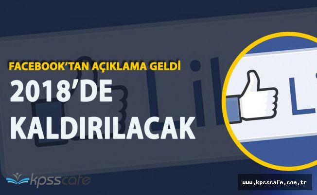 Facebook Üçüncü Parti Uygulamalarda 'Beğen' Düğmesini Kaldırıyor