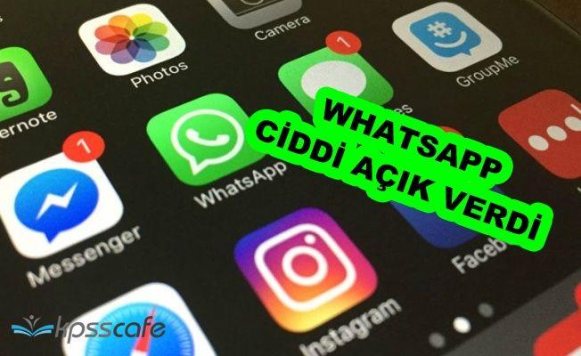 WhatsApp Ciddi Bir Hata Verdi: Kiminle Mesajlaştığınızı Herkes Görebilir