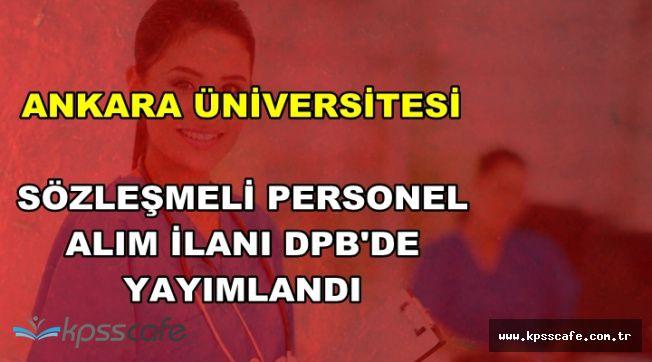 Ankara Üniversitesi 2016 KPSS Puanı ile 66 Hemşire Alımı Yapıyor