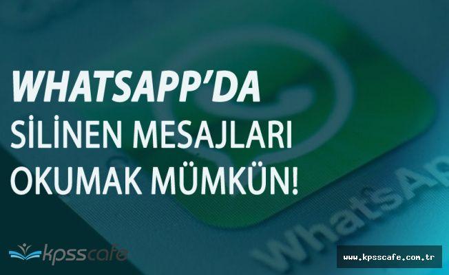 Whatsapp'da Mesajı Gönderdiyseniz Olay Bitti! O Güncelleme Tam Anlamıyla İşe Yaramıyor