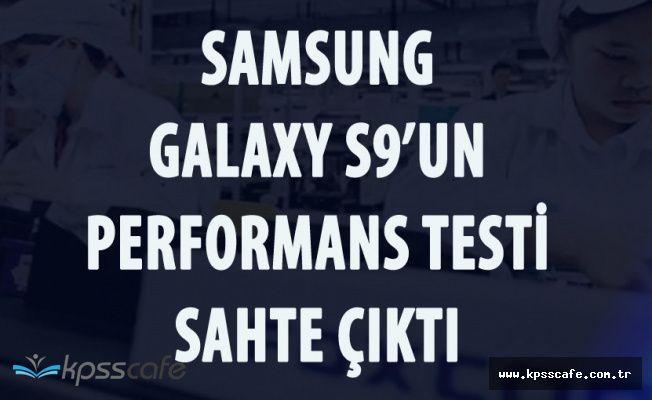 Samsung S9'un Performans Testi Sahte Çıktı!