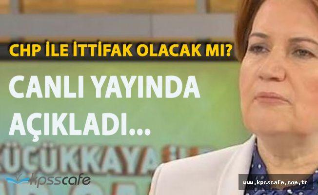 İYİ Parti Genel Başkanı Meral Akşener'den 'İttifak Açıklaması'