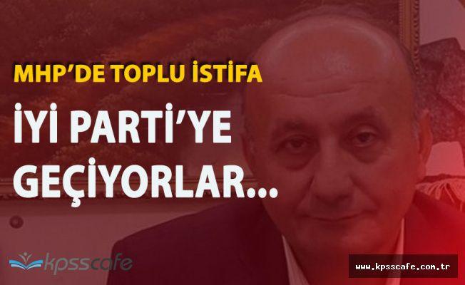 MHP'de Toplu İstifa ! 43 Kişi İYİ Parti'ye Geçiyor