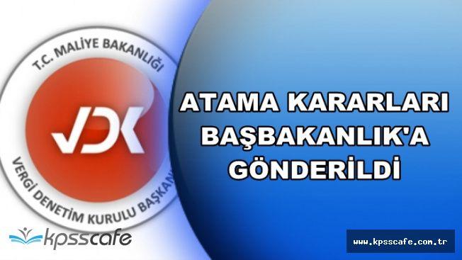 Müfettiş Yardımcılarının Atama Kararları Başbakanlık'a Gönderildi