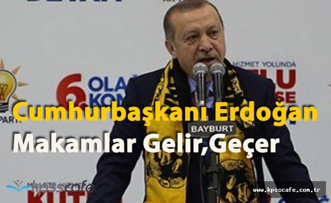 """Cumhurbaşkanı Erdoğan: """"2019 Seçim Kadrolarını Oluşturuyoruz"""""""