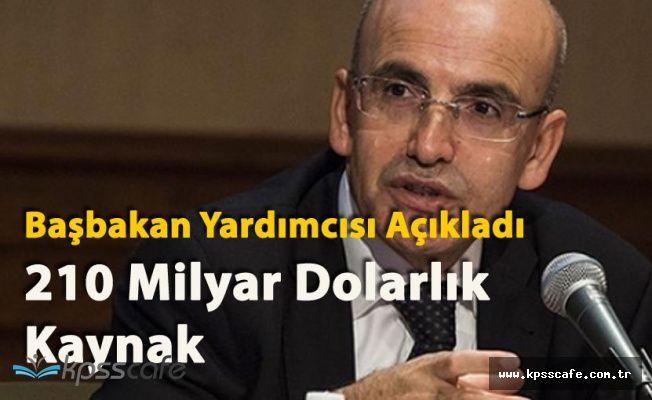 """Başbakan Yardımcısı Mehmet Şimşek """"Türkiye 210 Milyar Dolarlık Kaynak Bulacak"""""""