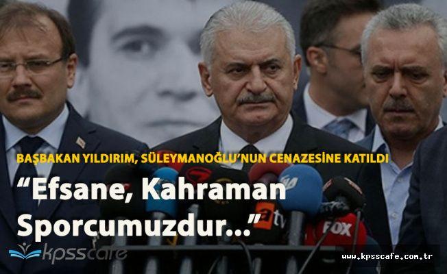 Başbakan Binali Yıldırım Naim Süleymanoğlu'nun Cenaze Törenine Katıldı