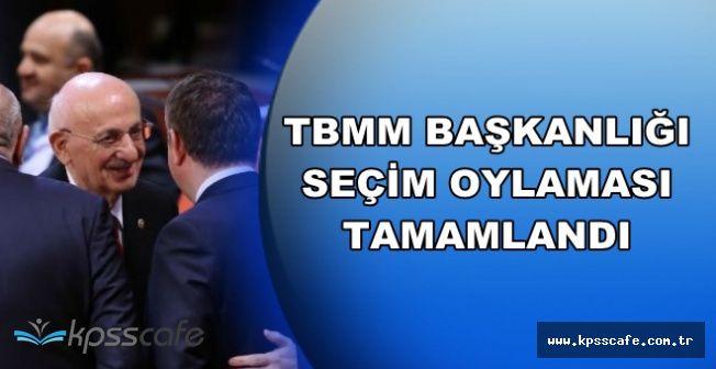 TBMM Başkanlık Seçimleri 3. Turda Tamamlandı-Başkan Seçildi