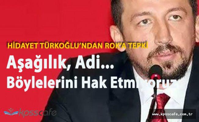 Hidayet Türkoğlu'ndan ROK'a 'Aşağılık, Adi'