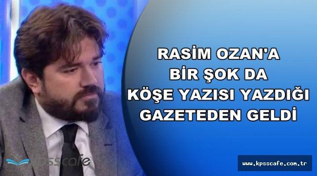 Rasim Ozan'a Beyaz TV'den Sonra Bir Şok da Gazeteden Geldi-Ertem Şener Sahip Çıktı