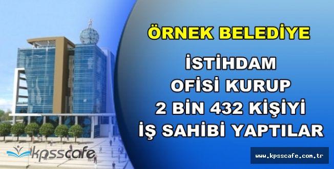 İstihdam Ofisi Kuran Belediye 2432 Kişiyi İş Sahibi Yaptı
