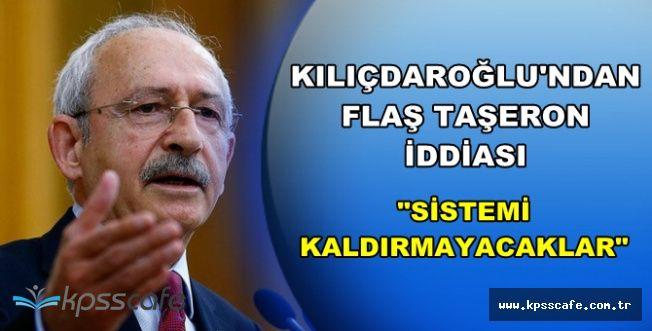 """Kılıçdaroğlu'ndan Flaş Taşeron Açıklaması: """"Sistemi Kaldırmayacaklar"""""""
