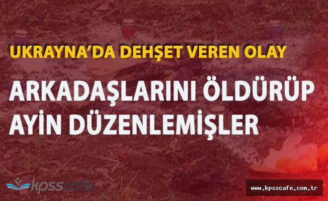 5 Türk Ukrayna'da Olay Oldu! Satanist Ayini Ortaya Çıktı
