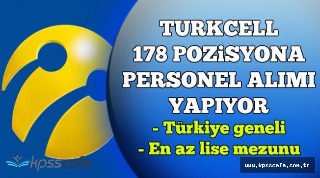 Turkcell 178 Pozisyona En Az Lise Mezunu Çok Sayıda Personel Alıyor