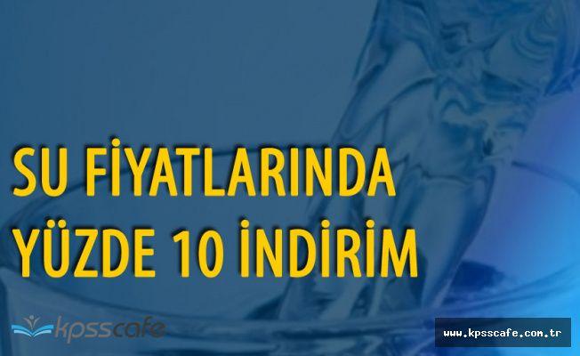 Bursa Büyükşehir Belediyesi Su Fiyatlarında İndirime Gitti