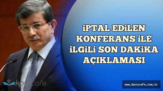 """Davutoğlu'ndan İptal Kararı Sonrası Flaş Açıklama: """"Kimse .."""""""