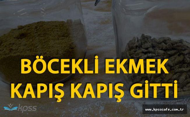 Böcekli Ekmekler Satışa Çıkarıldı! Şirket Yetkilisinden İlk Açıklama