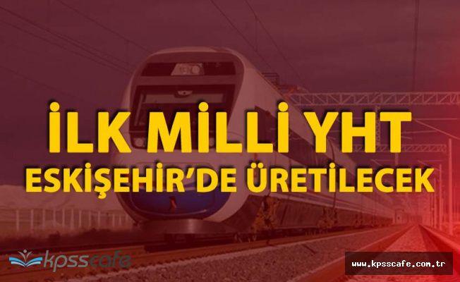 Türkiye'nin İlk Milli Yüksek Hızlı Trenini TÜLOMSAŞ Üretecek