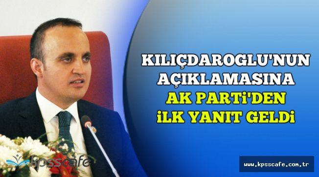 AK Parti'den Kılıçdaroğlu'nun Sözlerine İlk Yanıt