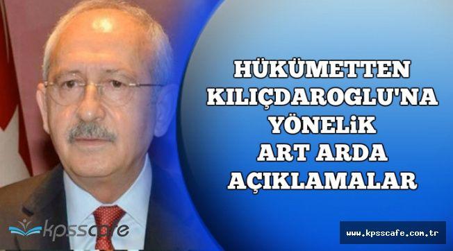 Hükümetten Kılıçdaroğlu'na Art Arda Sert Cevaplar