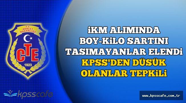 KPSS'den Düşük Puan Alanlar Yine Mağdur (İKM Alımında Boy-Kilo Şartını Taşımayanlar Elendi)