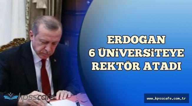Resmi Gazete'de Yayımlandı: Erdoğan 6 Üniversiteye Rektör Ataması Yaptı
