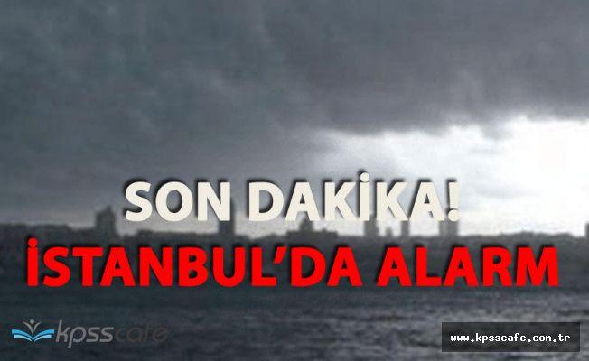 Flaş! İstanbul'da Kümülonimbus Alarmı!