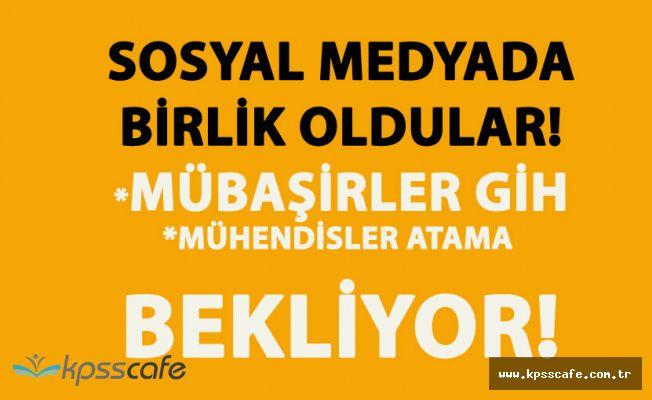 Sosyal Medyada Büyük Kampanya! Mübaşirler GİH, Gıda Mühendisleri Atama İstiyor!