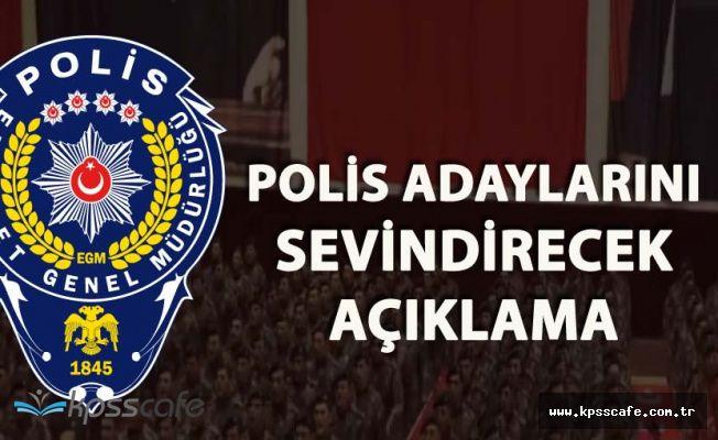 Polis Akademisinden Açıklama '2018'de Polis Alımları Hız Kazanacak!'