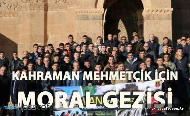 Van'da Mehmetçiğe Moral Gezisi