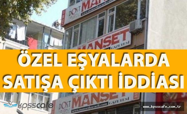KHK İle Kapatılan Gazetenin Çalışanları TMSF'den Özel Eşyalarını Alacak
