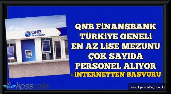 Türkiye Geneli En Az Lise Mezunu Banka Personeli Alımı-Başvurular İnternetten