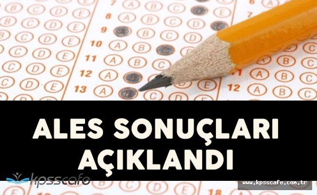2017 ALES Sonbahar Dönemi Sınav Sonuçları Açıklandı