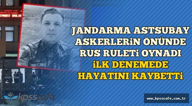 Gümüşhane'de Skandal: Rus Ruleti Oynayan Jandarma Astsubay İlk Denemede Hayatını Kaybetti