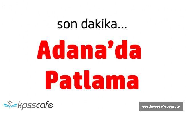 SON DAKİKA! Adana'da Polis Merkezi Yakınında Patlama (Resmi Açıklama Geldi)
