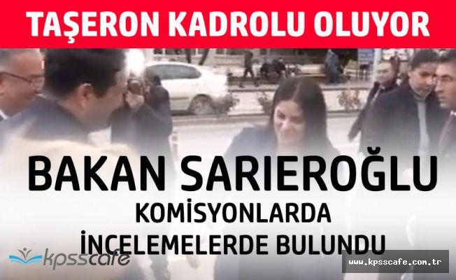 """Çalışma Bakanı Sarıeroğlu: """"Taşeron Düzenlemesinden Rahatsız Olanlar Var'"""