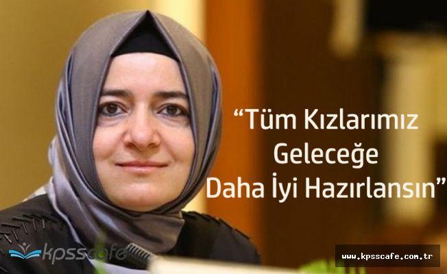 """Fatma Betül Sayan Kaya: """"Biz İstiyoruz Ki Tüm Kızlarımız Okusun"""""""