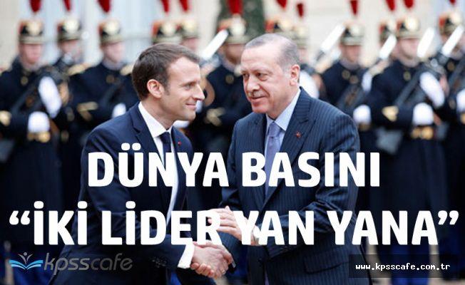 Cumhurbaşkanı Erdoğan'a Paris'te Resmi Karşılama
