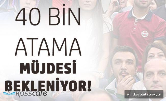 Öğretmen Adayları Birlik Oldu! 40 Bin Atama Müjdesi Bekliyor