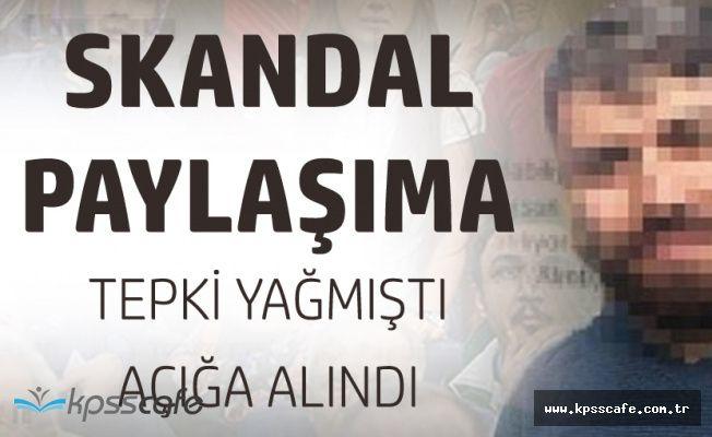 Din Kültürü Öğretmeni Skandal Paylaşımdan Sonra Açığa Alındı!