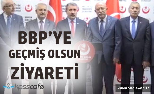 Türkiye Kamu-Sen'den BBP'ye Geçmiş Olsun Ziyareti